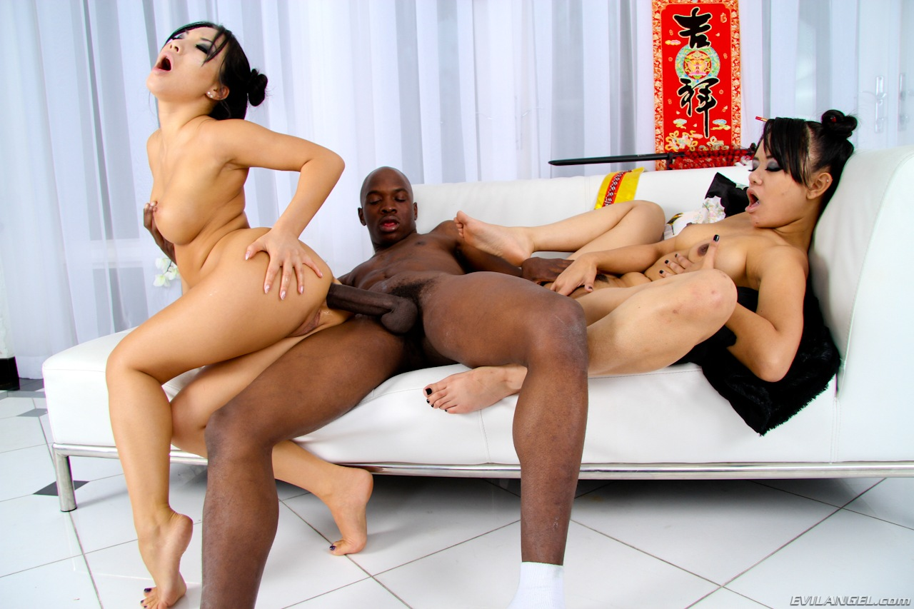 Asa Akira interracial anal from Ice Cold