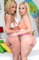Amy Brooke, Ashley Fires ass hole pictures