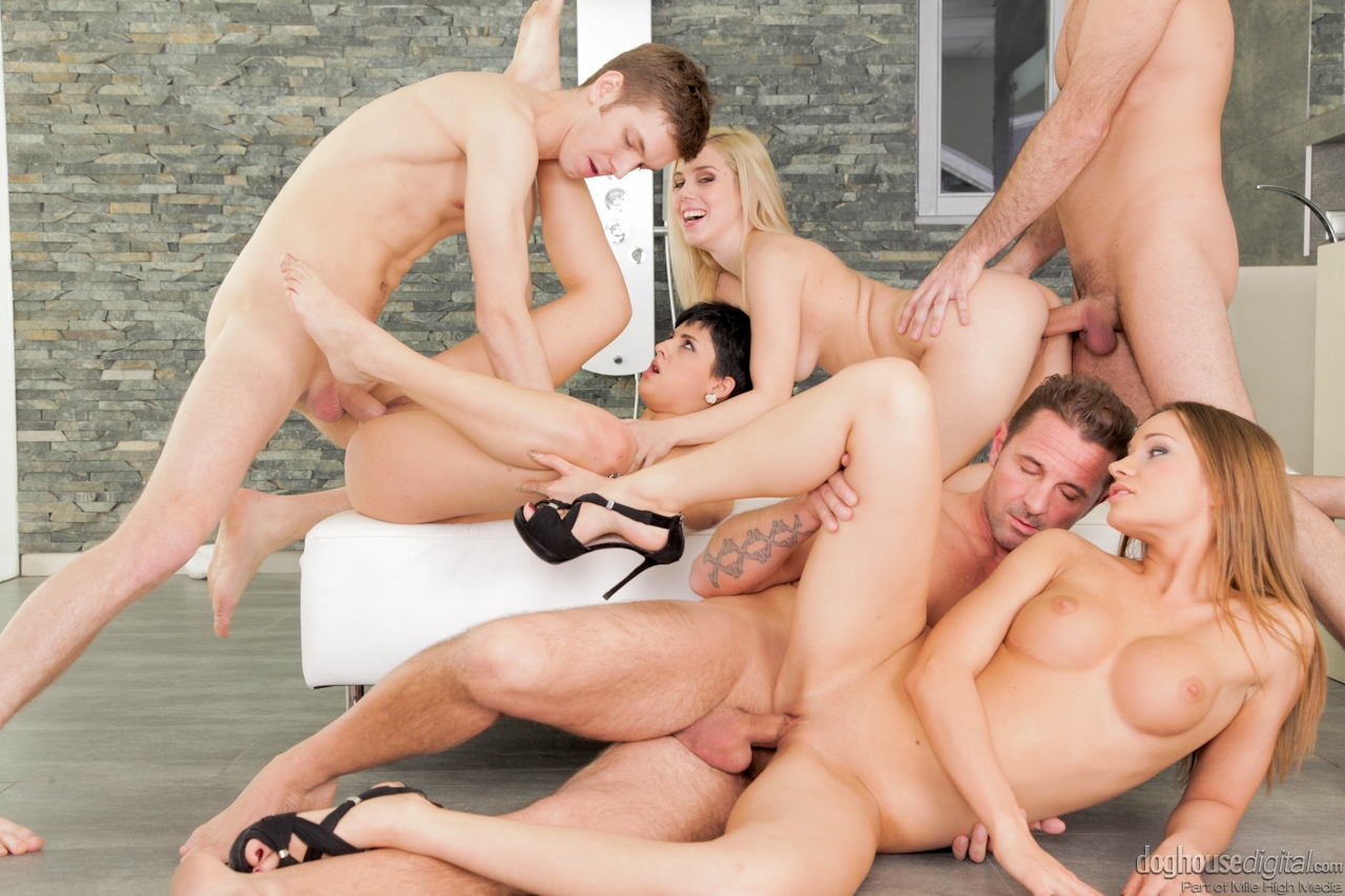 swingers orgy party