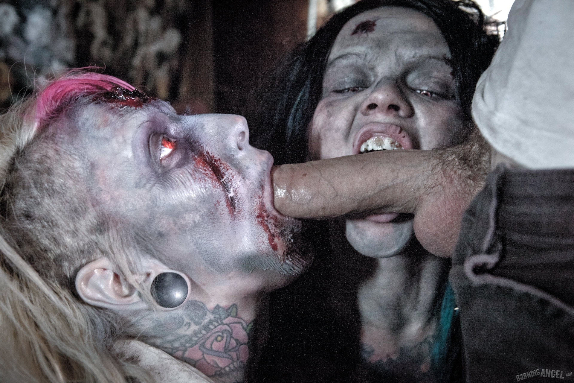 Zombie girl cunt porn video