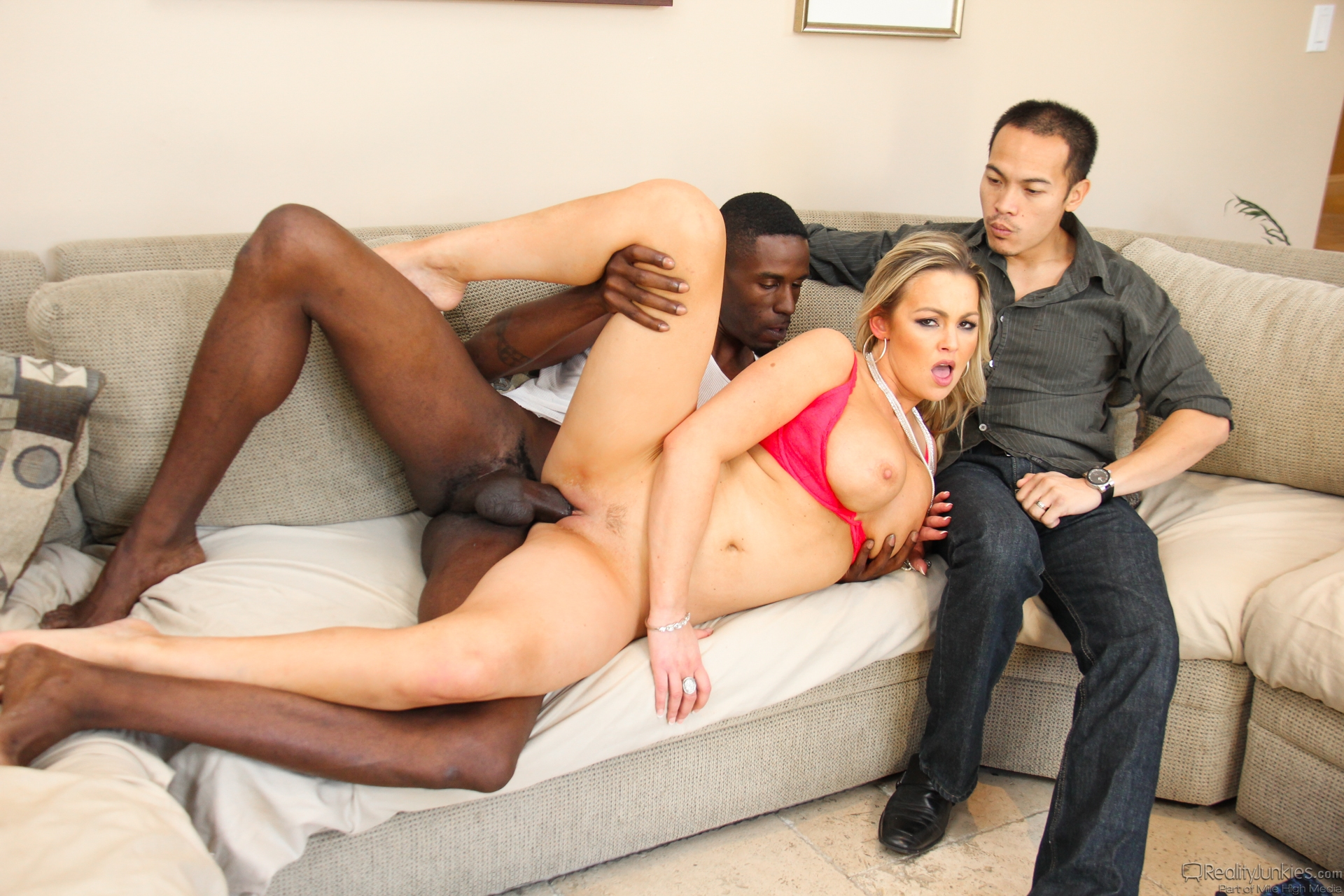 Jon Jon Dava Foxx in Milf Cucks Her Man  Moms Cuckold