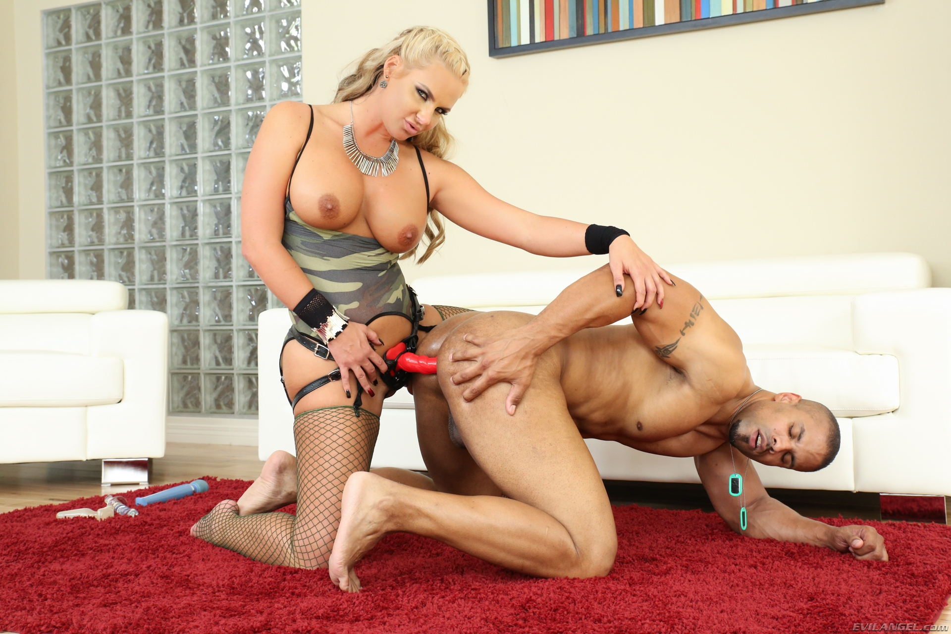 Milf strap on bondage xxx excited youthful 7