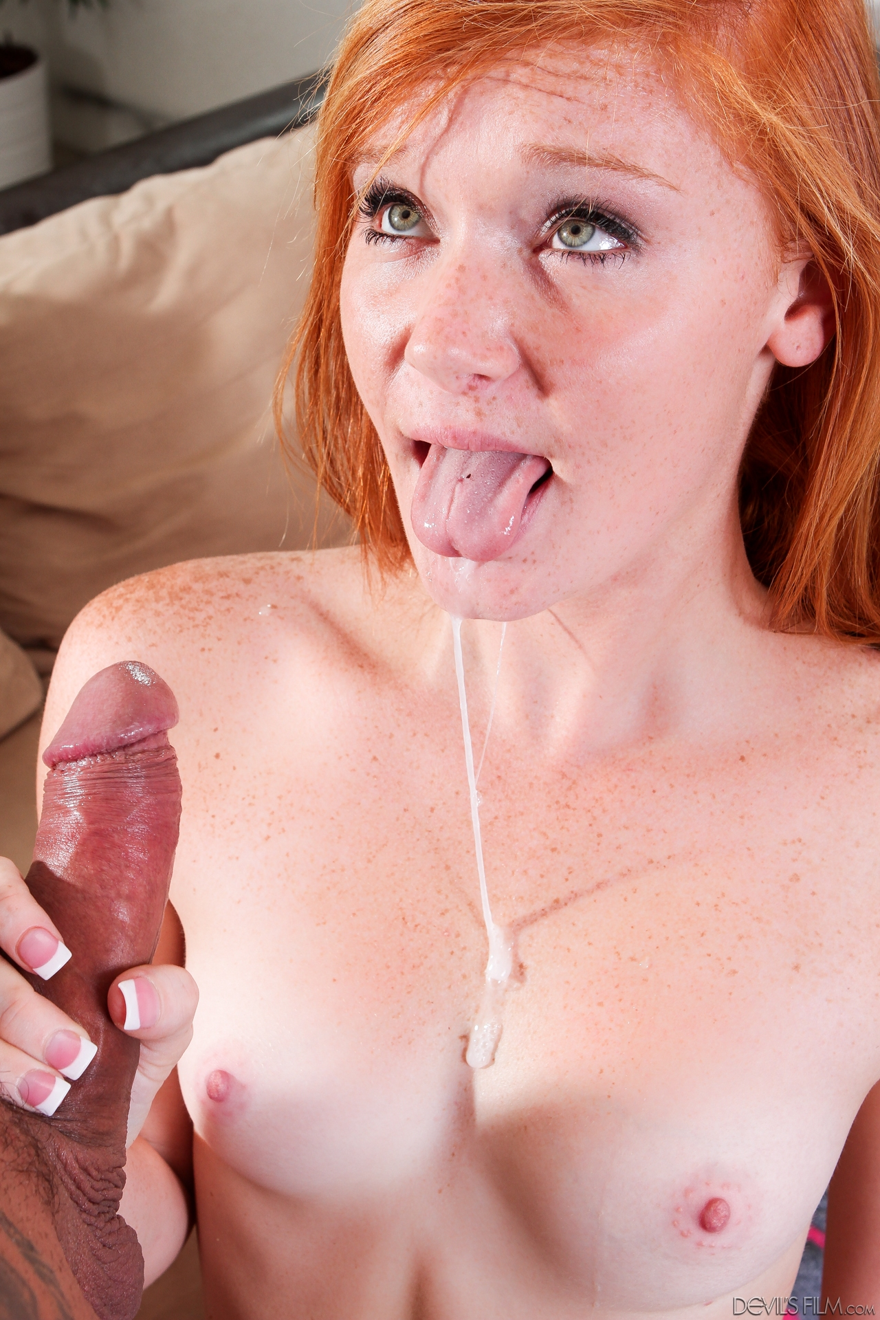 Red hair freckles porn
